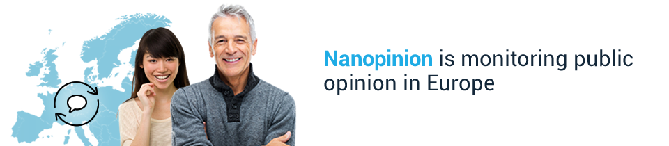 Nanopinion is monitoring public opinion in Europe